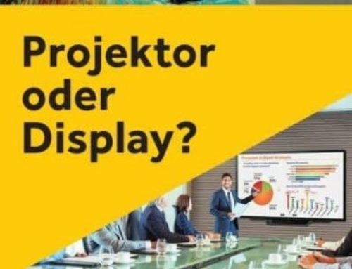 PROJEKTOR ODER DISPLAY?